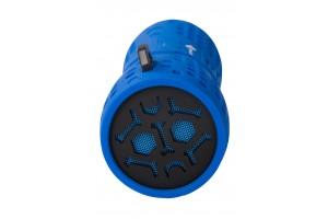 bluetooth колонка Рутмарк Sound WP-010 Синяя  (водонепроницаемая )